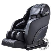 OOTORI SL-Track Massage Chair Zero Gravity, Electric Massage Chair Recliner Full Body Shiatsu with Kneading Tapping Heating Stretching (Black)