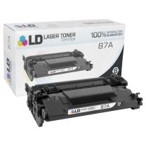 LD Compatible Toner Cartridge Replacement for HP 87A CF287A (Black)