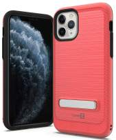 CoverON Metal Kickstand Protective SleekStand Series for iPhone 11 Pro Case, Racing Red