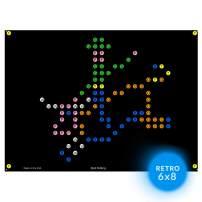 IllumiPeg Farm Refill templates for Basic Fun Lite Brite Magic Screen Retro Style (12 Sheets, 6x8)