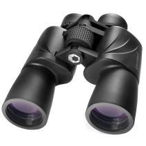 BARSKA Escape Porro 20x50 Zoom Binoculars (Green Lens)