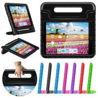 """greatgo Case Compatible with iPad Kids 9.7in Air 1 2 Case Shockproof Childproof Lightweight Convertible Handle Stand Tablet Case for 6th 5th Generation iPad 9.7"""" Air Case Black"""