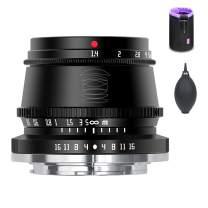 TTArtisan 35mm F1.4 Manual Focus APS-C Format Fixed Lens for M4/3 Mount Cameras EPM1 EPL1 EPL2 E-P1 E-P2 E-M1 G1 G2 G3 GF1 GF2 GX1 GX7 GH1 etc.
