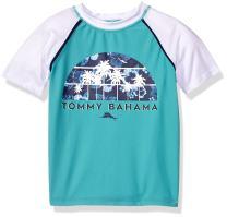 Tommy Bahama Boys' Big Rashguard Swim Top