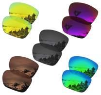 SmartVLT Set of 5 Men's Replacement Lenses for Oakley TwoFace XL Sunglass Combo Pack S03