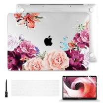 Batianda Case for MacBook Pro 16 inch 2019 Release Model A2141, Hard Shell Case for Newest MacBook Pro 16-inch Retina Display with Touch Bar & Touch ID, Watercolor Flowers