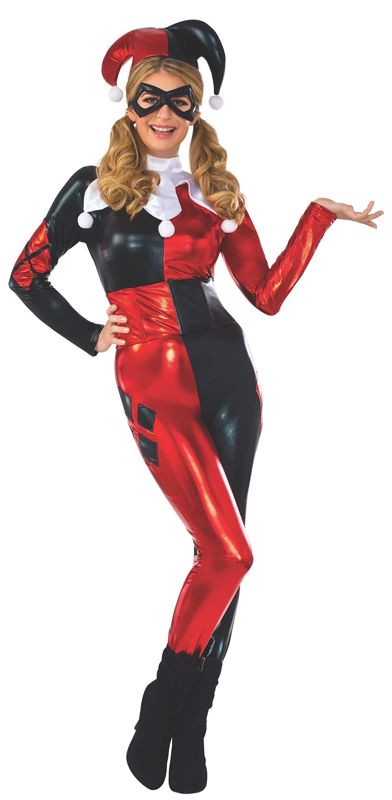 DC Comics Harley Quinn Deluxe Jumpsuit Costume