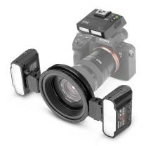 Meike MK-MT24S 2.4G Wireless Macro Twin Lite Flash for Sony A9 A7III A7IIK A7RIII A6400 A6300 A6000 A6500 and Other MI Hot Shoe Mount Mirrorless Cameras
