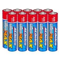 ACDelco AAA Batteries UltraMAX Premium Alkaline Battery, 10-Count