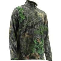 Nomad Mens NWTF Fleece 1/4 Zip   Light-Weight Stain Resistant & Water Resistant