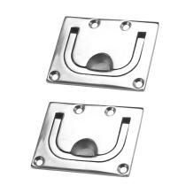 Mizugiwa 316 Stainless Steel Ring Pull Handle Pack of 2