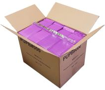 """iMBAPrice 500-Pack #000 (4"""" x 8"""") Premium Mat Purple Color Self Seal Poly Bubble Mailers Padded Shipping Envelopes (Total 500 Bags)"""