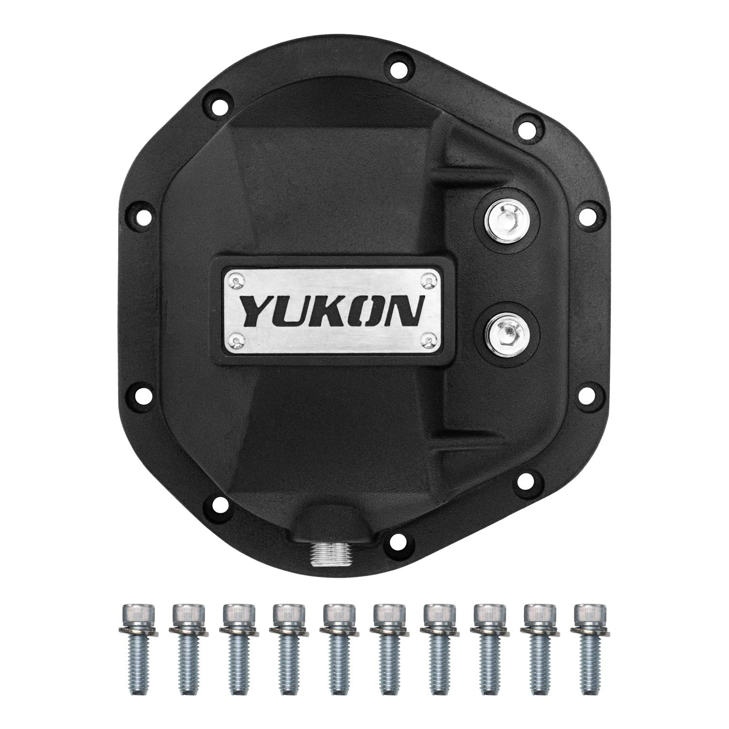Yukon Gear & Axle YHCC-D44 Black Hardcore Differential Cover