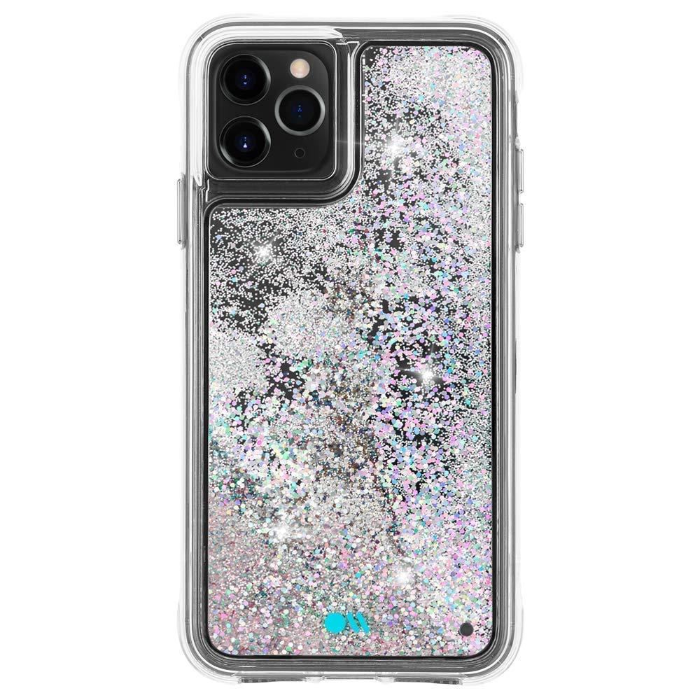 Case-Mate - iPhone 11 Pro Max Glitter Case - Waterfall - 6.5 - Iridescent, Model:CM039828