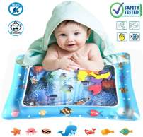 ONG NAMO Inflatable Tummy Time Baby Water Play Mat Infants & Toddlers , The Perfect Fun time Play Activity Center Your Baby's Stimulation Growth for Your Baby