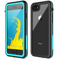 Nineay iPhone SE 2020 Waterproof case,iPhone SE 2020 Case iPhone 7/8 Waterproof Case, Protective Cover with Built-in Screen Protector, IP68 Dustproof Shockproof Case for iPhone 7/8/SE 2020