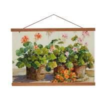 Magnetic Wooden Photo Frame DIY Custom Poster and Artwork Canvas Print Hanger for Home Decoration(40cm/15.74)