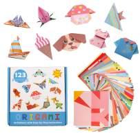 Origami Papers for Kid Animals Craft Origami Paper Kit Premium Colorful kit Amazing Origami Series Animals Origami Paper Craft Kit