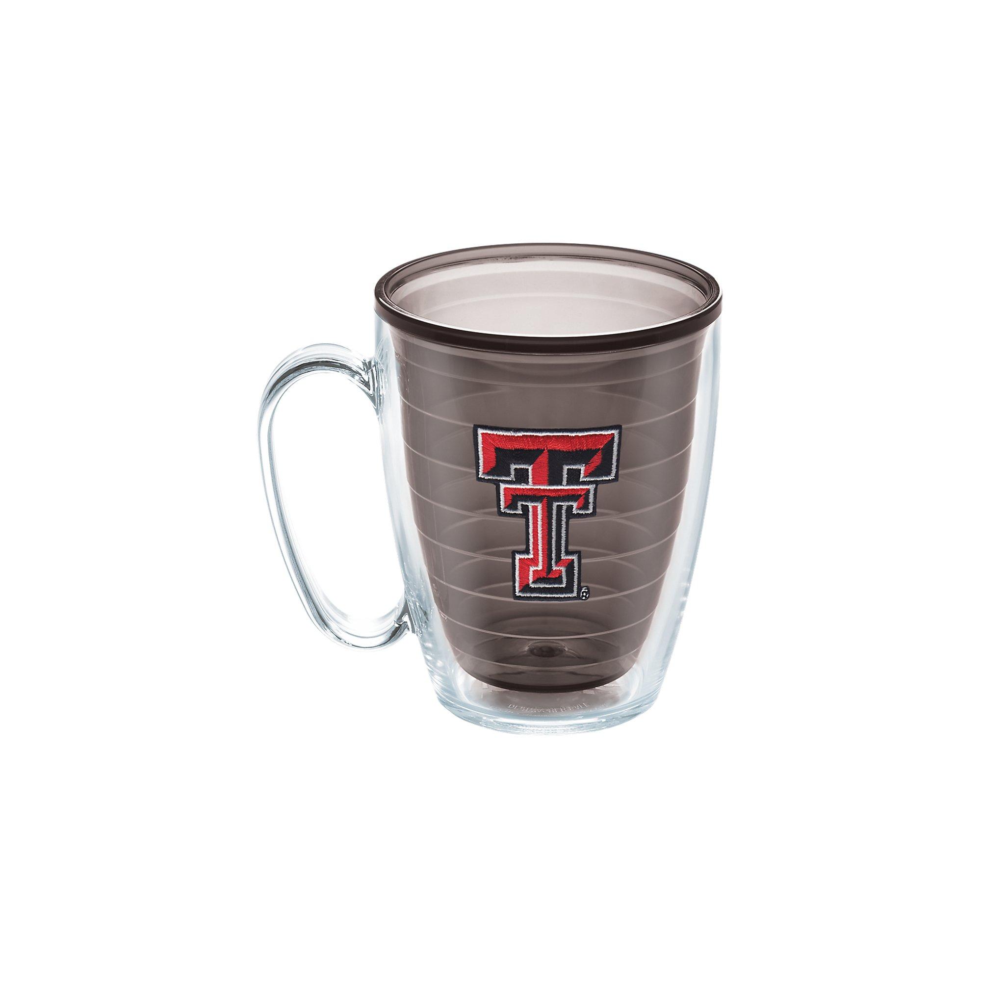 Tervis Texas Tech University Emblem Individual Mug, 16 oz, Quartz - 1095818