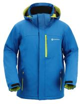 Andorra Men's Performance Insulated Ski Jacket with Zip-Off Hood