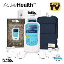 Portable PRO 2020 Dual TENS Machine and EMS Muscle Stimulator Combines TENS and EMS AS an Electro Therapy Device for Pain, Relief, Arthritis Pain Relief, Neck Pain, Back Pain, Sciatica, and Sport