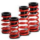Replacement for Mitsubishi 3000GT/Dodge Stealth Adjustable Coilover Suspension Lowering Spring (Red)