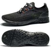 SOBASO Mens Womens Water Shoes Quick Dry Aqua Shoes for Beach and Water Sport Size US 5.5-13.5