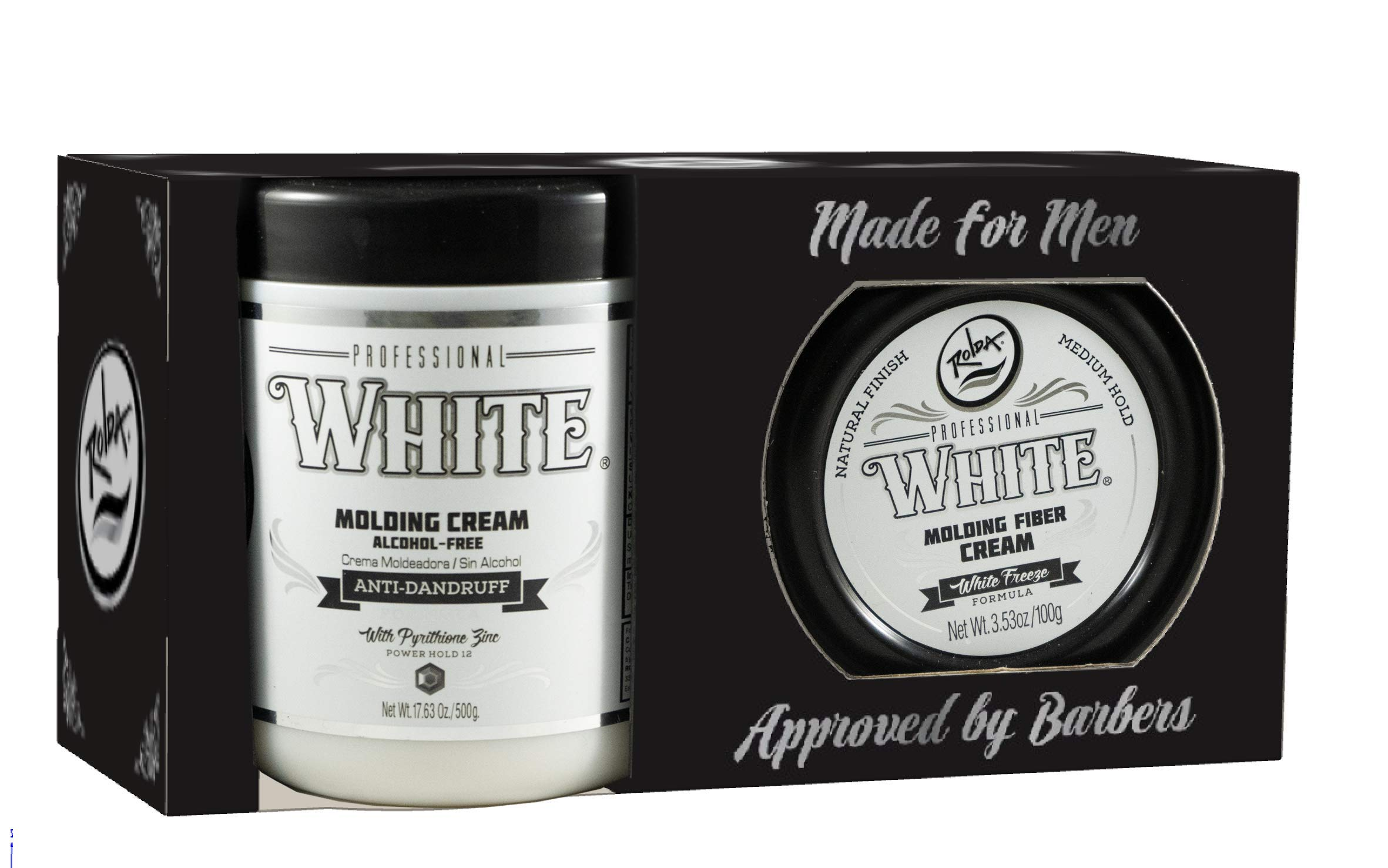 WHITE ROLDA GEL 17.6 OZ & WAX 3.53 OZ