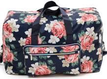 Foldable Large Travel Duffle Bag Waterproof Cute Overnight Carryon Weekender Bag for Women Girl