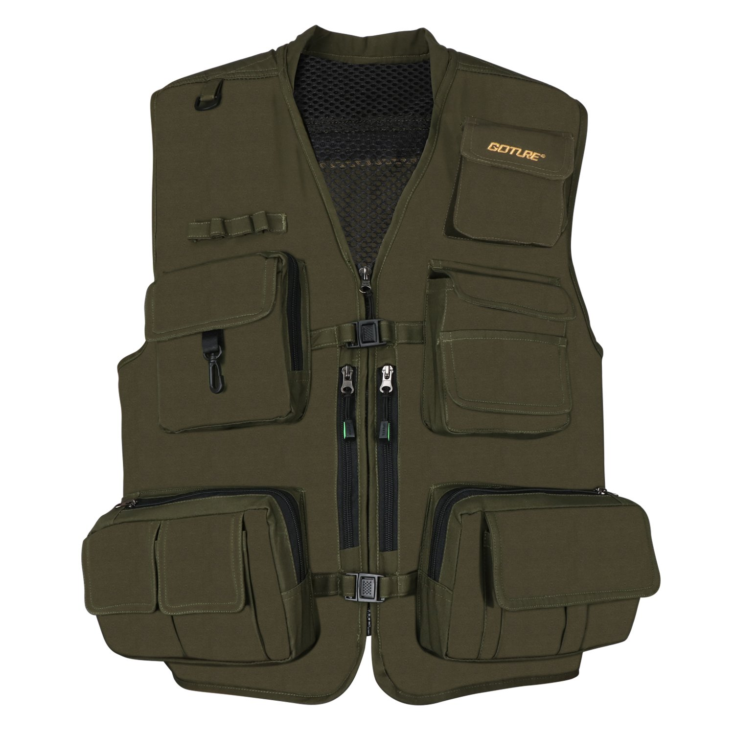Goture Multi-Pockets Fishing Vest Travel Camping Photography Hiking Hunting Vest