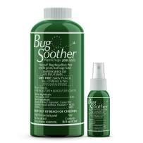 Bug Soother Refill - Natural Insect, Gnat and Mosquito Repellent & Deterrent (16 oz.) DEET Free - Safe Bug Spray for Adults, Kids, Pets, Environment - Includes Free 1 oz. Travel Size. (16 oz.)
