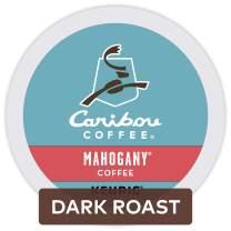Caribou Coffee Mahogany, Single-Serve Keurig K-Cup Pods, Dark Roast Coffee, 24 Count