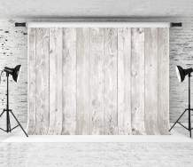 Kate 7x5ft Retro Wood Backdrop White Wooden Background Portrait Photography Backdrop Collapsible Fabric