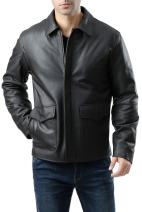 Landing Leathers Men's Raider Indy-Style Leather Jacket (Regular & Tall Sizes)