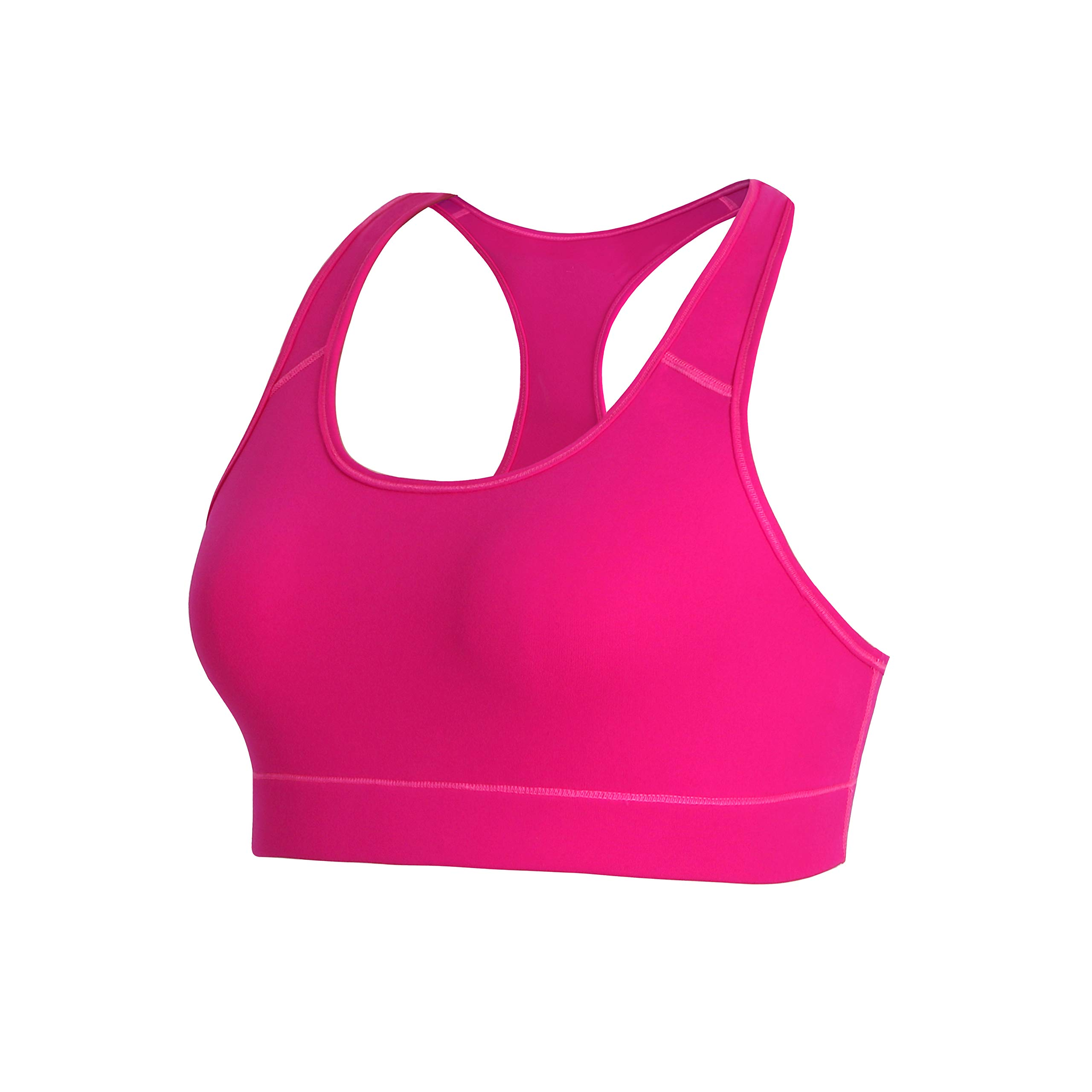 BUBBLELIME Racerback Sports Bras for Women Seamless High Impact Support Activewear Workout Fitness Gym Yoga Bras
