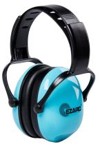 EZARC Kids Safety Ear Muffs 30dB for Children Hearing Protection - Noise Reduction Light Weight Earmuffs for 2-15 Years Old Kids, Blue