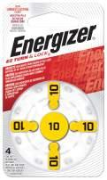 Energizer EZ Turn & Lock 10 Hearing Aid Battery, 96-Count