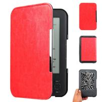 WALNEW Amazon Kindle Keyboard (kindle 3/D00901) Case Cover -- Ultra Lightweight PU Leather  Cover for Amazon kindle Keyboard(3rd Generation)Tablet with 6 Display and Keyboard ,Red