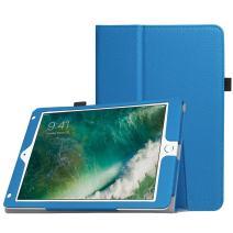 Fintie Case for iPad 9.7 2018/2017, iPad Air 2, iPad Air - [Corner Protection] Premium Vegan Leather Folio Stand Cover, Auto Wake/Sleep for iPad 6th / 5th Gen, iPad Air 1/2, Royal Blue