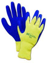 "MAGID K-ROC KEV 6529 Kevlar Glove, Latex Palm Coating, 11"" Length, XX-Large  (12 Pair)"