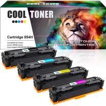 Cool Toner Compatible Toner Cartridge Replacement for Canon Cartridge 054 054H CRG-054 Toner for Canon Color ImageClass MF644Cdw MF642Cdw MF640C LBP622Cdw LBP620 Series Ink Printer-(KCYM,4Pack)