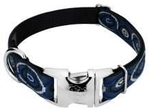 Country Brook Design - Premium Dog Collar - Abstract Collection