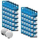 CR2032 3 Volt 230 mAh Lithium Coin Cell Battery 50 Pack