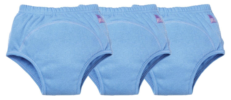 Bambino Mio, Potty Training Pants, Blue, 2-3 Years, 3 Count
