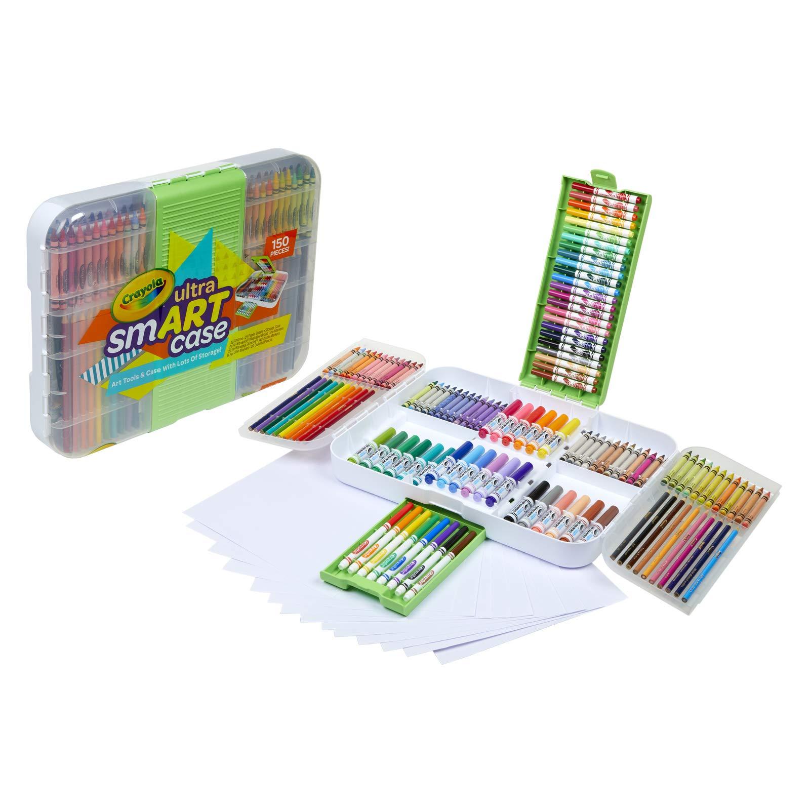 Crayola Ultra Smart Case Next Generation Art Set Age 6+