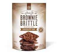 SHEILA GS Chocolate Chip Brownie Brittle, 4.5 OZ
