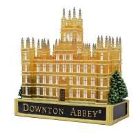 Kurt S. Adler Kurt Adler Battery-Operated Downton Abbey LED Castle Table Piece, Multi