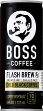 BOSS Coffee by Suntory Japanese Flash Brew Original Black Coffee 8oz 12 Pack Imported