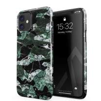 BURGA Phone Case Compatible with iPhone 11 - Jade Green Military Forest Marble Camo Camouflage Cute Case for Women Thin Design Durable Hard Plastic Protective Case