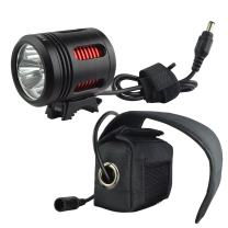 Lumintrail Bike Light Rechargeable Bright Bike Headlight for Mountain Bikers and Road Cyclists with Rechargeable Battery Pack